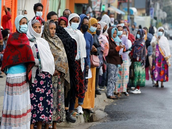 Visuals of parliamentary election in Ethiopia (Credit: Reuters)