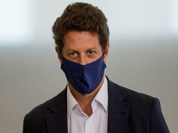 Ex-Brazilian Environment Minister Ricardo Salles (Credit: Reuters)