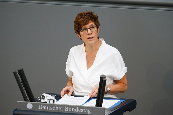 German Defense Minister Annegret Kramp-Karrenbauer (File Photo)