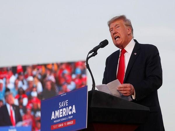 Former US President Donald Trump (Credit: Reuters)