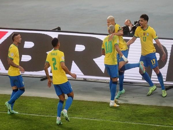 Brazil beat Peru 1-0 to reach Copa America final.