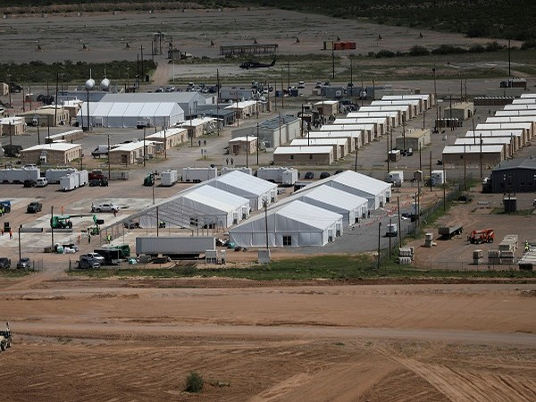 Afghan refugee camp in New Mexico, US (Photo Credit: Reuters)