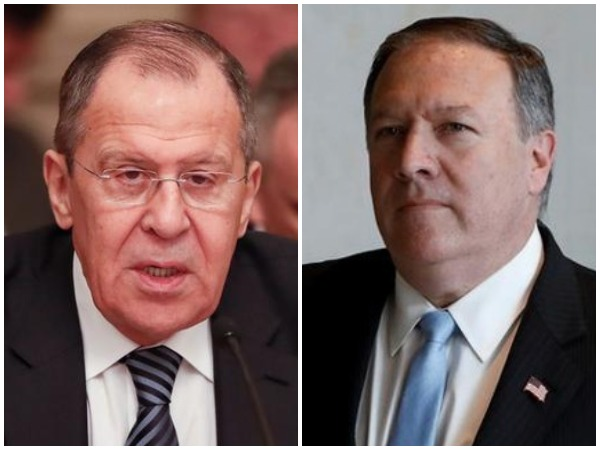 Russian Foreign Minister Sergey Lavrov and United States secretary of the state, Micheal Pompeo