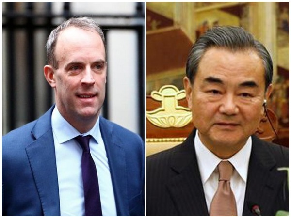 UK Foreign Secretary Dominic Raab said that he had discussed the situation in Afghanistan with Chinese Foreign Minister Wang Yi.