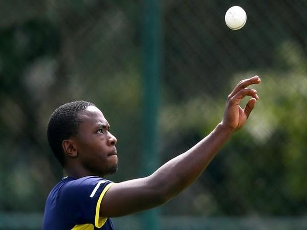 South Africa's fast bowler Kagiso Rabada
