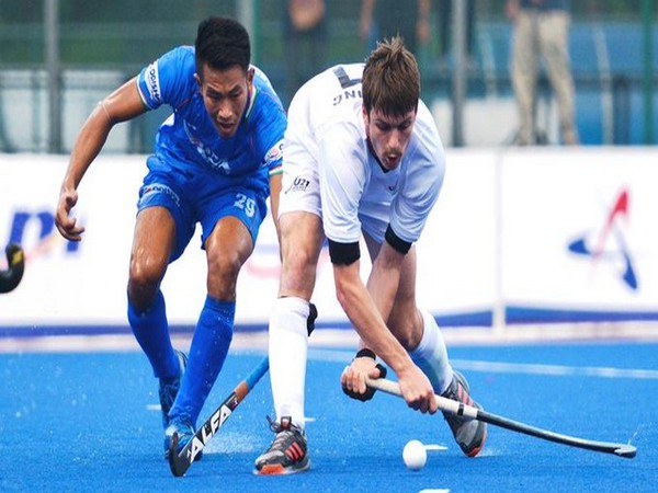 India colts midfielder Rabichandra Singh (Photo/Hockey India Twitter)
