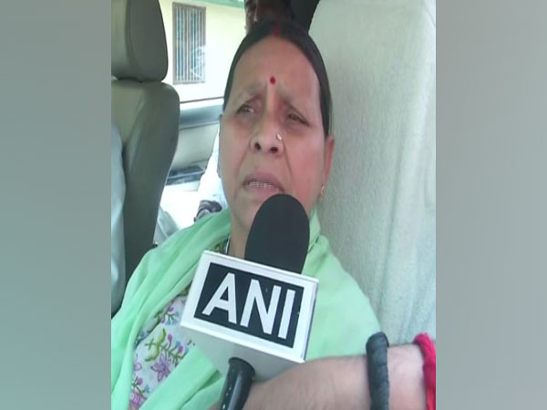 Rabri Devi speaking to ANI in Patna, Bihar.