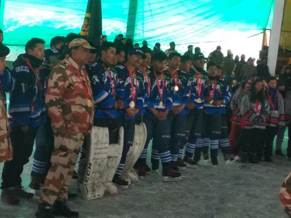 ITBP won the IHAI National Ice Hockey Championship in Gulmarg on Friday.