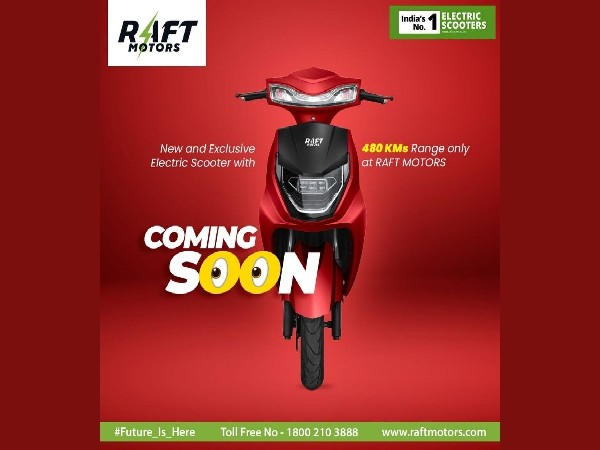 Raft Motors: Pioneer The India's EV Revolution, with launch of world's longest-range scooter