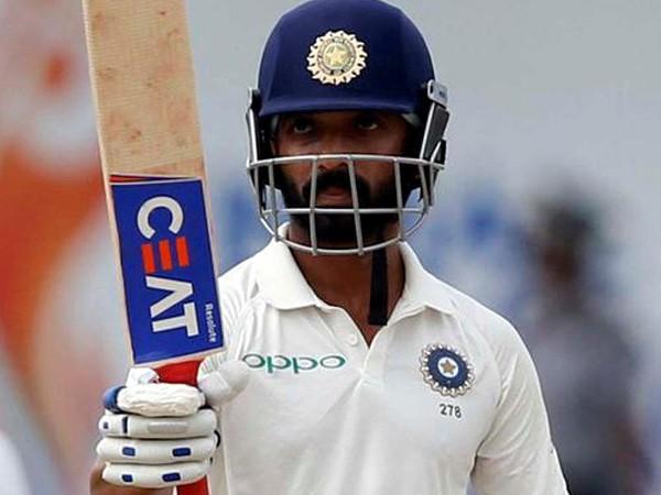 Indian Test vice-captain Ajinkya Rahane