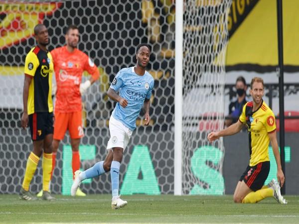 Manchester City striker Raheem Sterling. (Photo/Premier League Twitter)