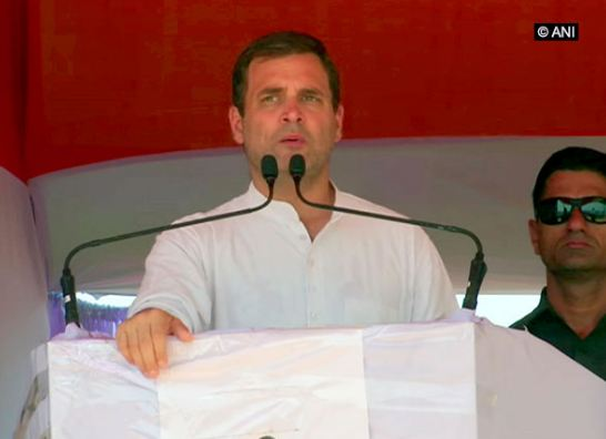 Congress president Rahul Gandhi (File Photo)