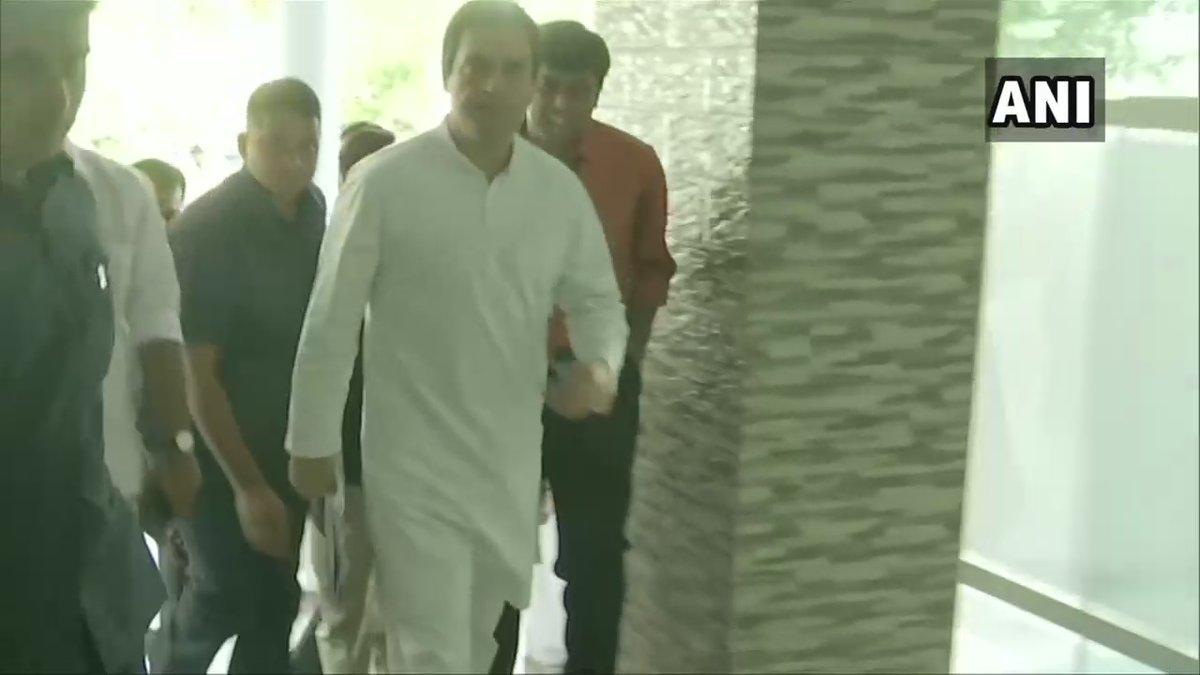 Congress president Rahul Gandhi in Wayanad
