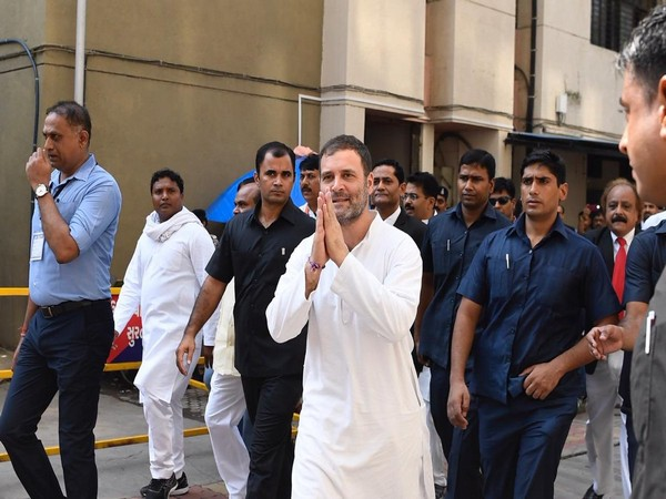 Surat: Political opponents desperate to silence me, says Rahul Gandhi