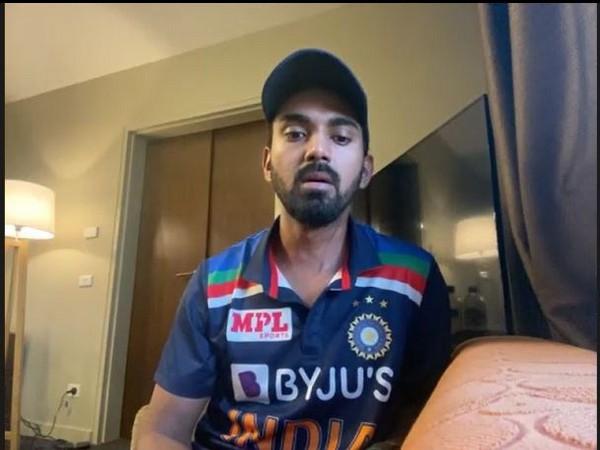 Wicket-keeper batsman KL Rahul