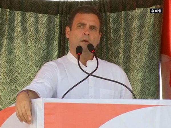 Congress Rahul Gandhi [File Photo/ANI]