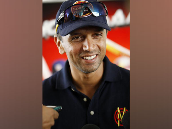 Former Indian cricketer Rahul Dravid