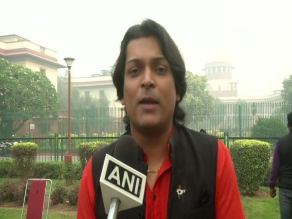 Social activist Rahul Easwar speaks to ANI in New Delhi on Thursday [Photo/ANI]