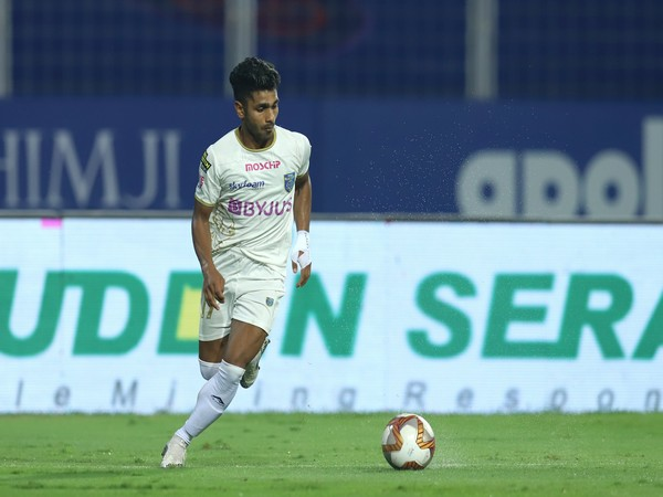Kerala Blasters midfielder Rahul KP (Photo/ AIFF)