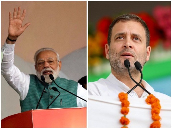 Prime Minister Narendra Modi (left) and Congress chief Rahul Gandhi (right)