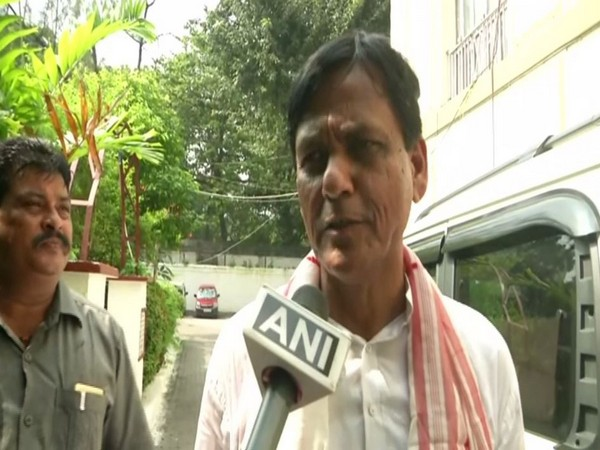 MoS Home Affairs Nityanand Rai speaking to ANI in North 24 Parganas on Sunday. Photo/ANI