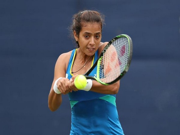 Indian tennis player Ankita Raina