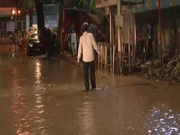 Rains led to waterlogging in many parts of Mumbai on Monday