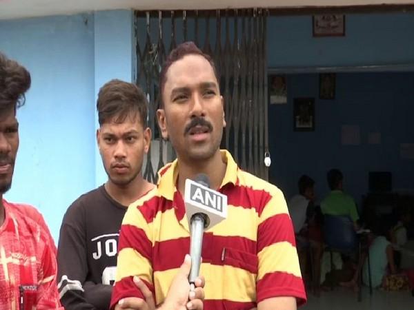 Mahesh Netam, Police Force, Tikarapara Police Station while talking to ANI on Wednesday
