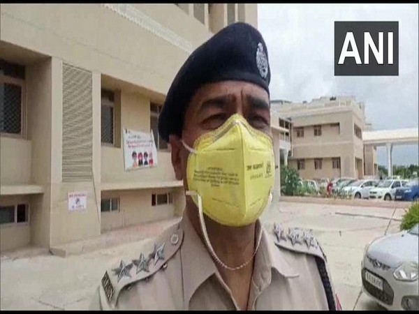 PC Vishnoi, Sanganer Assistant Commissioner of Police speaks to reporters. (Photo/ANI)