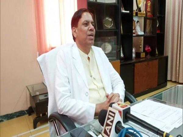Raj Kumar, Vice Chancellor of Uttar Pradesh University of Medical Sciences Saifai