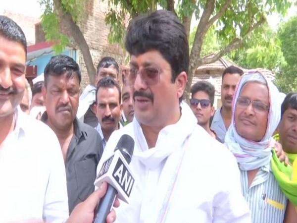 Raghuraj Pratap Singh alias Raja Bhaiya speaking to ANI