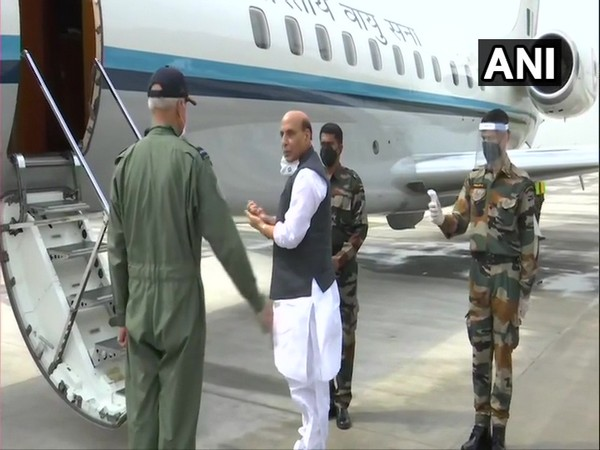 Defence Minister Rajnath Singh leaves for three-day visit to Russia on Monday. [Photo/ANI]
