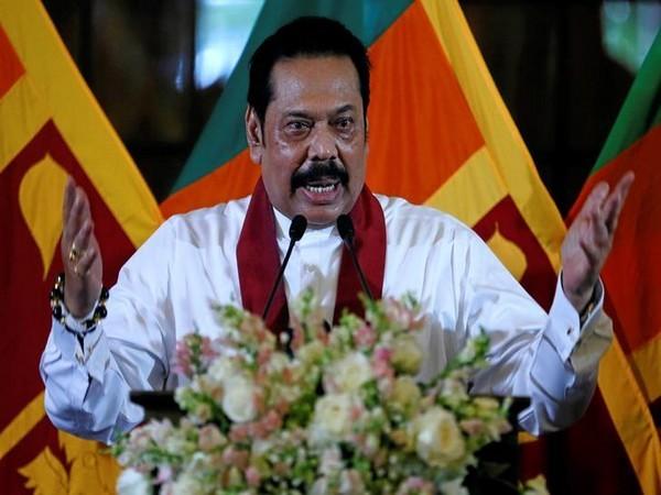 Former Sri Lankan President Mahinda Rajapaksa (file photo)