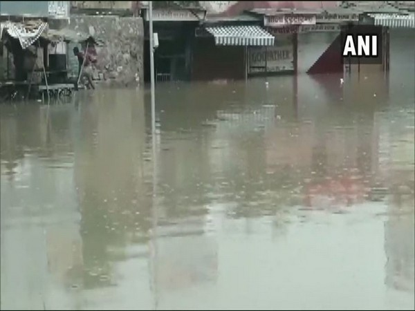 A visual of a street in Sikar on Saturday (Photo/ANI)