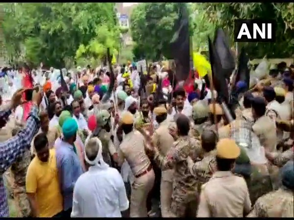 A visual from the video of the incident. (Photo/ANI)
