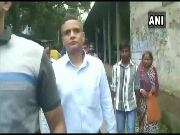 Former Kolkata police commissioner Rajeev Kumar arrives at Alipore court in Kolkata on Thursday.