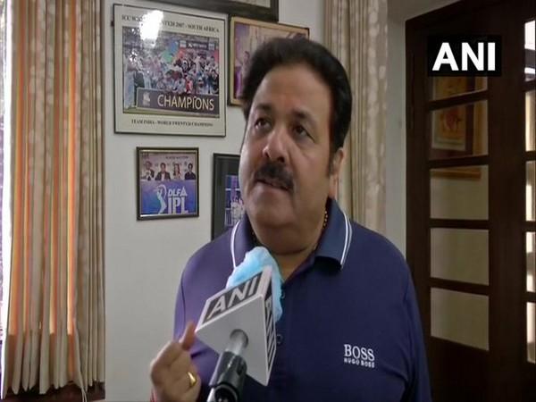 BCCI vice president Rajeev Shukla