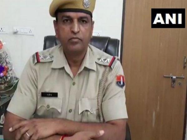 Police Station Officer (Gegal) Rajendra Commando on Sunday. Photo/ANI