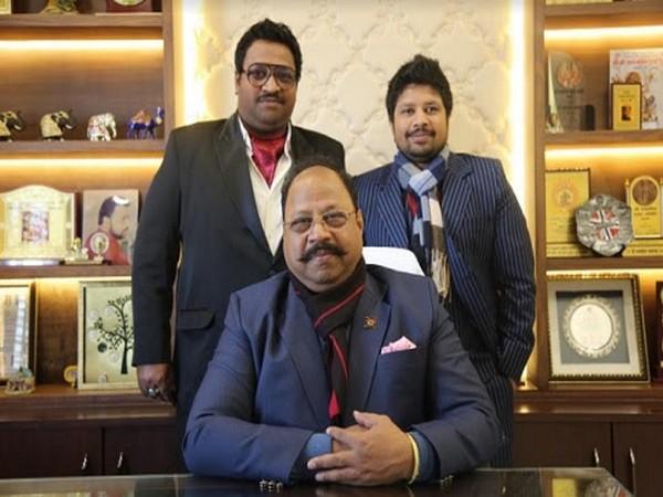 Rajesh, Manas and Mehul Rastogi of Alde Medi Impex Ltd.