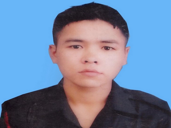 Naik Rajib Thapa was killed in action in the ceasefire violation by Pakistan along the Line of Control on Friday.