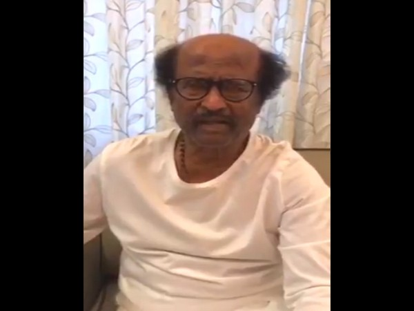 A still from the video shared by superstar Rajinikanth (Image courtesy: Twitter)