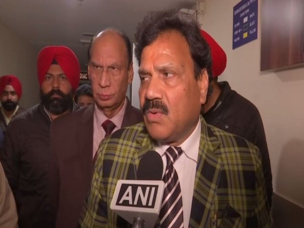 Punjab Cabinet Minister Raj Kumar speaking to ANI in Punjab on Saturday. Photo/ANI
