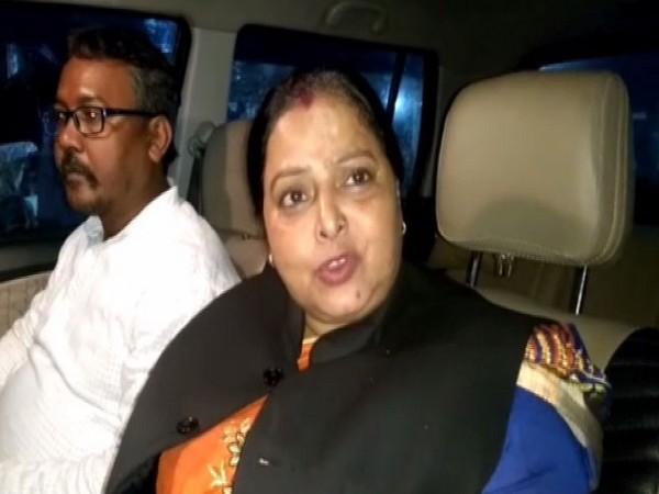 West Bengal Vice-President Rajkumari Keshari in Bankura on Sunday