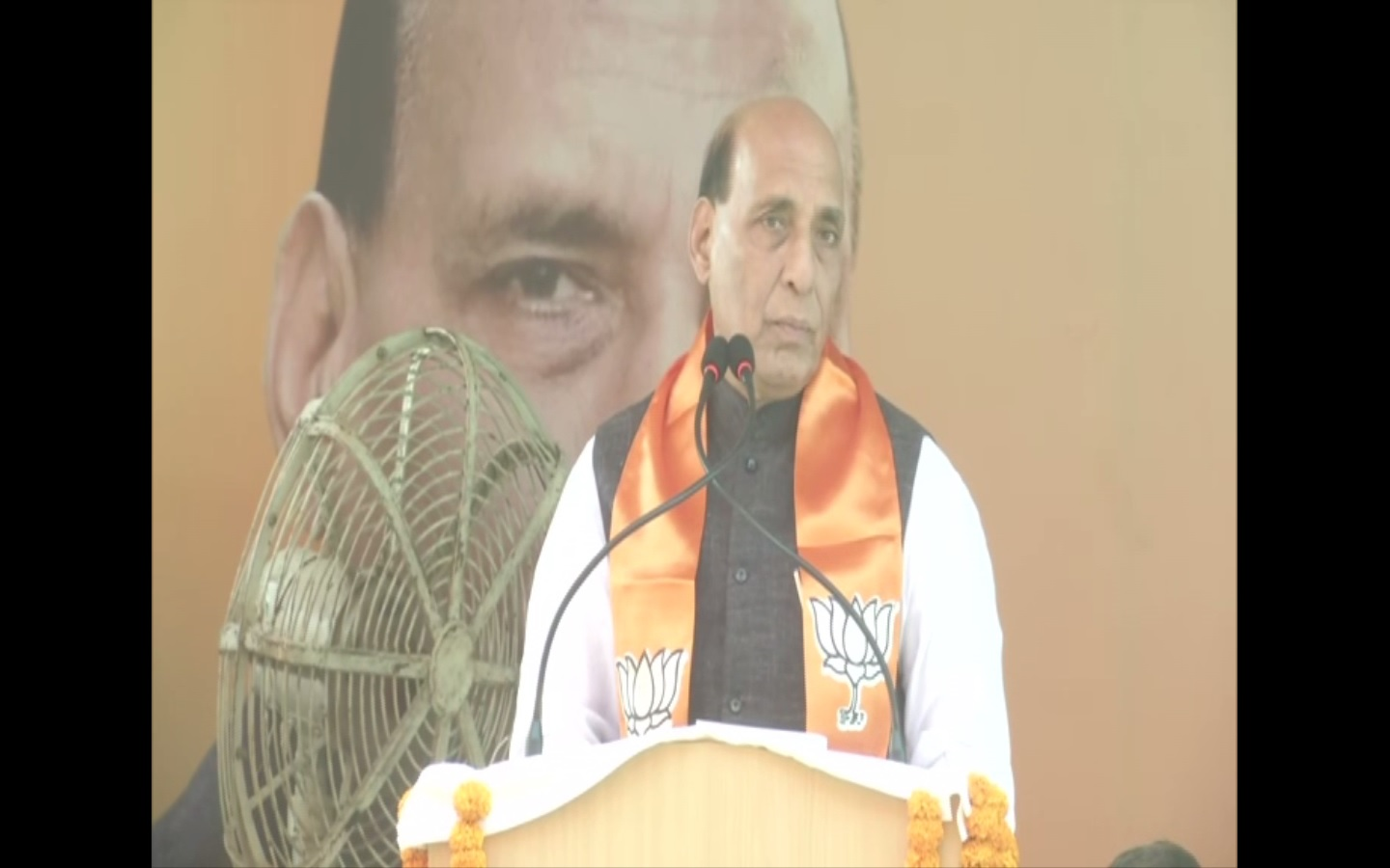 Defence Minister Rajnath Singh
