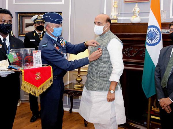 Defence Minister Rajnath Singh (Photo Credit: Rajnath Singh Twitter)