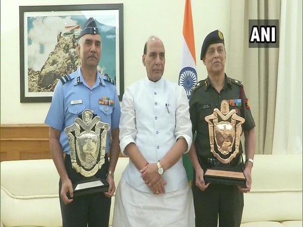 Rajnath Singh with Command Hospital Air Force Bengaluru and Command Hospital Central Command Lucknow
