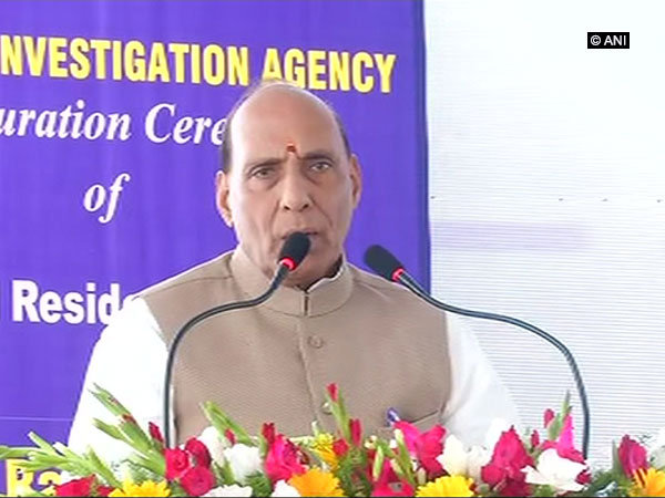 Home Minister Rajnath Singh on Friday inaugurated residential complexes and offices of NIA in Hyderabad and Guwahati.