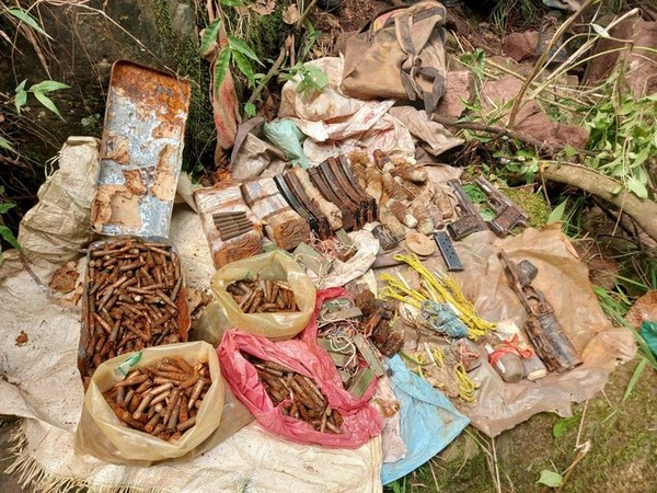 Arms and ammunition recovered in Rajouri district