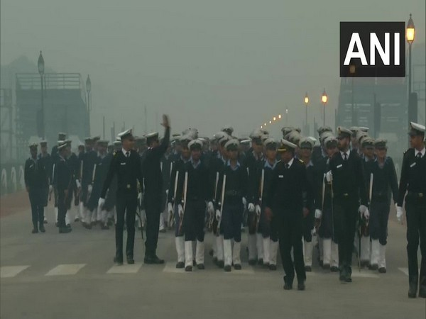 Rehearsal for Republic Day 2020 parade in full swing at Rajpath on Monday morning