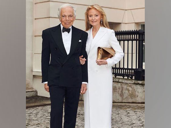 Ralph Lauren along with wife Ricky Lauren (image courtesy, Instagram)